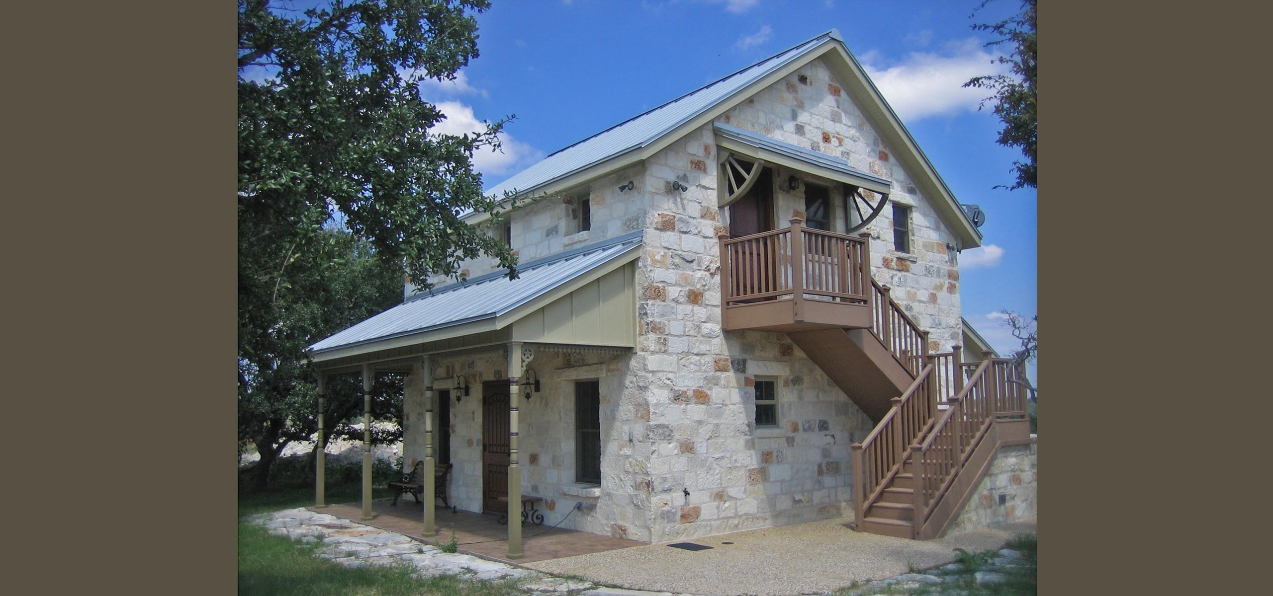 Hahn cabin texas home plans for Texas cabin plans